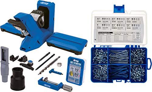 Kreg Pocket-Hole Jig 720PRO with SK04 Pocket-Hole Screw Starter Kit