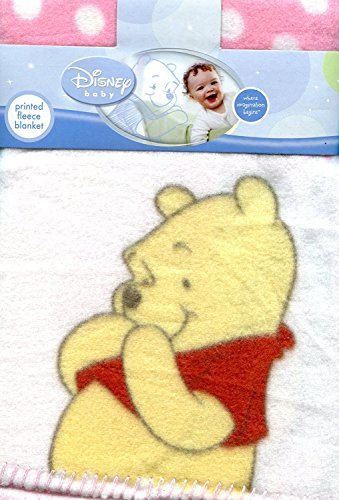 Disney Winnie l'Ourson bébé imprimé Couverture en polaire