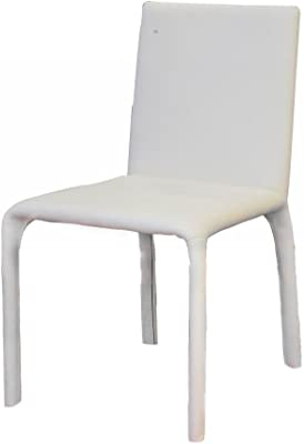 HY142 White Leatherette Dining Chair Set of Four