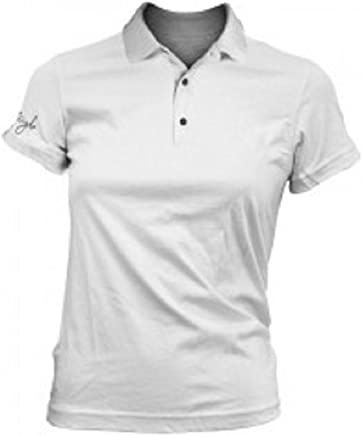 b4388f25a Fayde Golf Europe Ladies Ice White Fashion Golf Polo