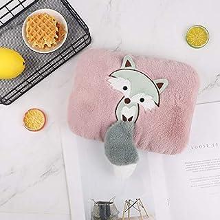 Charging Plush Plush Warm Water Bag Cartoon Small Fox hot Water Bottle Explosion-Proof Hand Warning Removable Detazhi