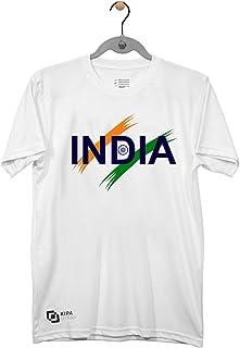 KIPA India Round Neck T-Shirt - L - White