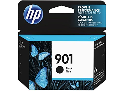 HP 901 Black OfficeJet Ink Cartridge Schwarz Tintenpatrone
