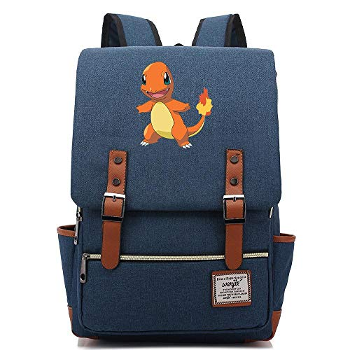 Fire Dragon Print Casual Daypack, Lightweight School Travel Rucksack, Fits 15'' Laptop Tablet 16 inch. Color-06.