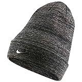 Nike Swoosh Cuffed Beanie Wintermütze (one Size, Charcoal)