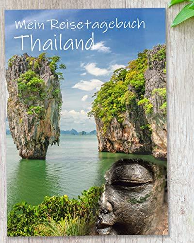 Reisetagebuch Thailand zum Selberschreiben | Tagebuch - Notizbuch mit viel Abwechslung, spannenden Aufgaben, tollen Fotos uvm. | gestalte deinen individuellen Reiseführer für Asien | Calmondo