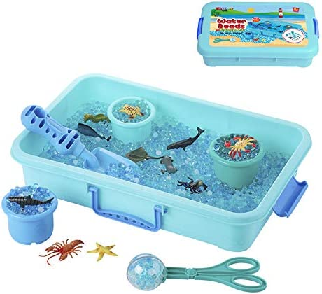 Water Beads Play Set Sensory Toys for Kids with 16 oz of Water Beads Sea Animals Water Beads product image