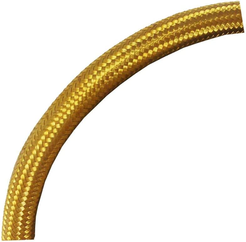 Braided Brass Oil Line Fuel Directly managed store Hose 3 By The Max 44% OFF Inch Foot 8