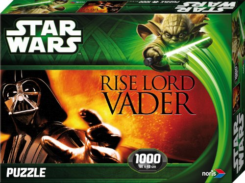 Noris 606031146 - Star Wars Lord Vader Puzzle Episode 2 & 3, 1000 Teile