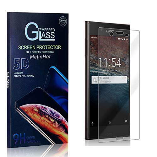 MelinHot Displayschutzfolie für Sony Xperia XZ, 9H Härte Schutzfilm aus Gehärtetem Glas, Anti Bläschen Displayschutz Schutzfolie für Sony Xperia XZ, 1 Stück