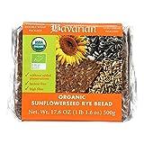 Genuine Bavarian Organic Sunflower Seed Rye Bread, 17.6 Ounce - 6 per case.6