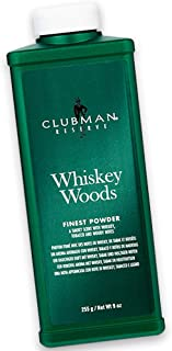 Clubman Clubman 9 ounce reserve whiskey woods cornstarch powder, 9 Ounce