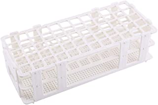 Nosii Plastic Test Tube Rack 60 Holes Holder Storage Stand Lab 3 Layers 16mm Hole