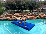 FLOAT-N-SLED – Swim Raft that Never Deflates, Pool Raft, River Raft, Camping Mat, Snow Sled and Pet Friendly