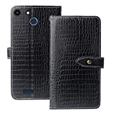 Lankashi Flip Premium Leather TPU Silicone Phone Gel Case