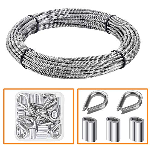 T316 Stainless Steel Right /& Left Lag Stud Set-1//8 Cable Railing:5,10,20,50 Sets