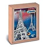 Eitech Eitech-C33 C33-Juego de construcción de Metal, diseño Eiffel, Multicolor, Torre de parís (C33)