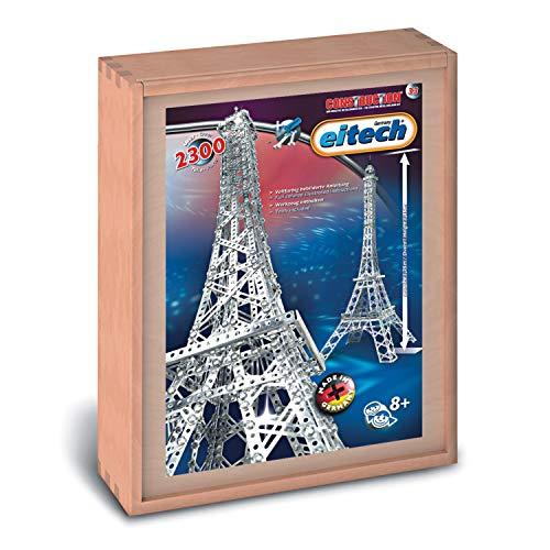 Eitech 00033 Modellbaukästen-Eiffelturm Deluxe Set, 2300-teilig, Multi Color
