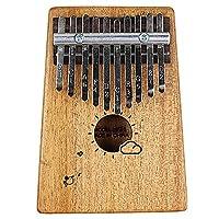 10    17    21キーピアノカリンバフィンガーピアノ、音楽愛好家のためのマリンバフィンガー楽器 10 tone mahogany