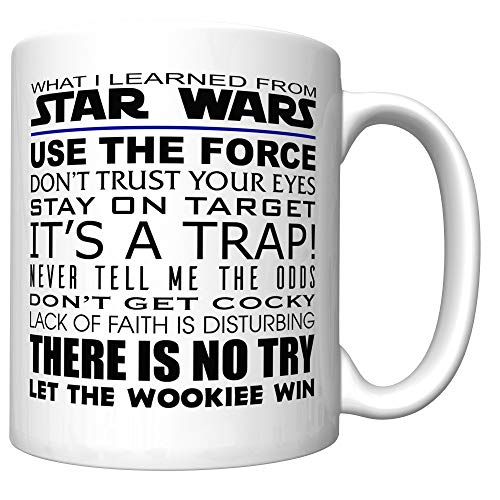 What I Learned From Star Wars Coffee Mug (Old Version) [SW]