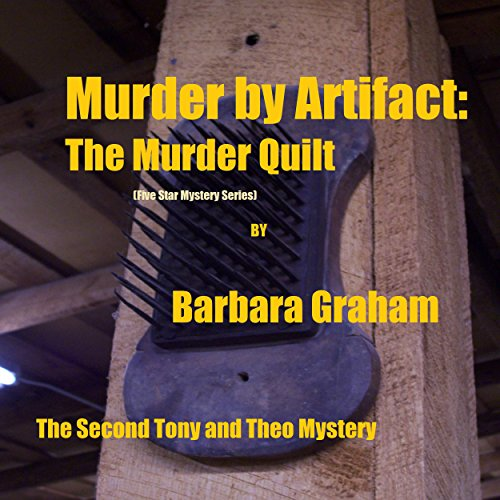 Murder by Artifact audiobook cover art