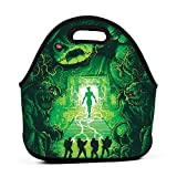 Waterproof Durable Insulated Thermal Lunch Bag The Real Ghostbusters Fruit Tote Hot Food Bag For Family Lunch Box Storage Organizer