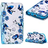 Cistor Wallet Case for Huawei P20 Lite,Fancy 3D Painting Magnetic Closure Flip Cover Shockproof PU Leather...