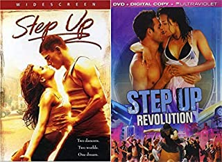 Two Dancers Two Worlds One Dream: Step Up & Step Up Revolution (DVD Bundle/ 2 Feature Films All About Dancing)