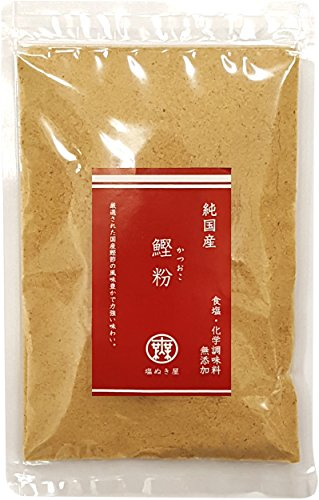 食塩不使用 国産 鰹粉(かつおこ) 100g