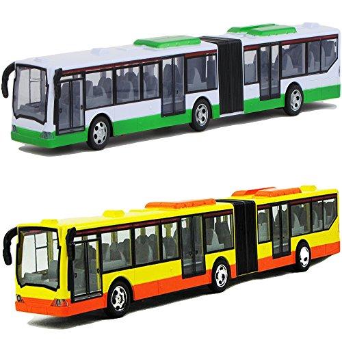 Diawell 1 x RC Ferngesteuertes Linienbus Bus Auto mit Frontlicht 44 cm Lang