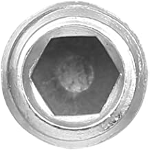 Nishore DIN916 304 Parafuso de Aço Inoxidável Grub Screw Cup Hex Socket Set