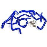 Silicone Radiator Coolant Hose Kit Clamps For VW GOLF GTI MK3 VR6 2.8 V6 1994 1995 1996 1997 1998 Blue