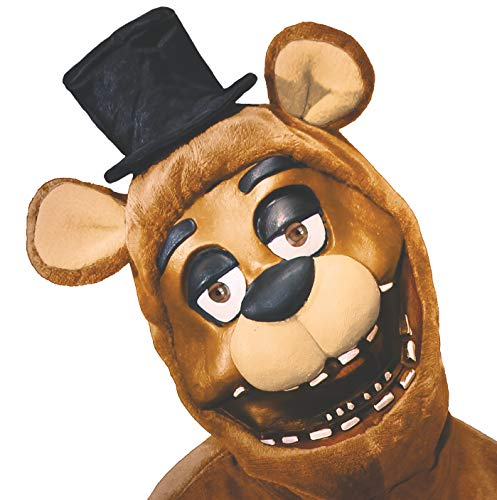 RUBIE'S COSTUME COMPANY Men's Five Nights Freddy 3/4 Mask As Shown One Size