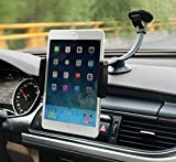 Zuwit Car Dashboard Windshield Suction Mount,two Clips for 3.5'-5.5' Iphone and 7-8 Inch Tablets Ipad Mini