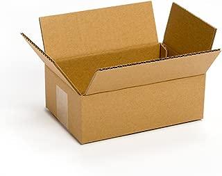 Pratt PRA0016 Recycled Corrugated Cardboard Single Wall Standard Box with C Flute, 8