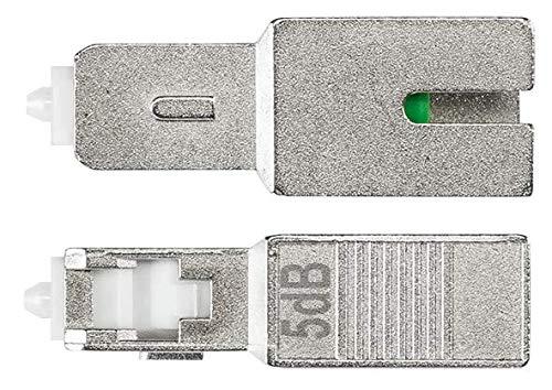 Axing OZU 3-05 SC/APC - Atenuador óptico (5 dB, Fibra de Vidrio)...