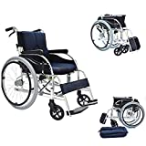 Bariatric Transport Chair with Locking Hand Brakes, Heavy Duty And Extra Wide Wheelchair