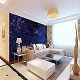 WAFJJ Vlies FototapeteSternenhimmel Größe:W200XH140 CM Moderne Wanddeko - Design Tapete - Wandtapete - Wand Dekoration-Wandtapete Design Tapete Geeignet