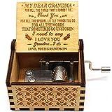 Caja de música You are My Sunshine – Caja de música con diseño más reciente – Regalos de nieto a abuela – 1 set (TK)