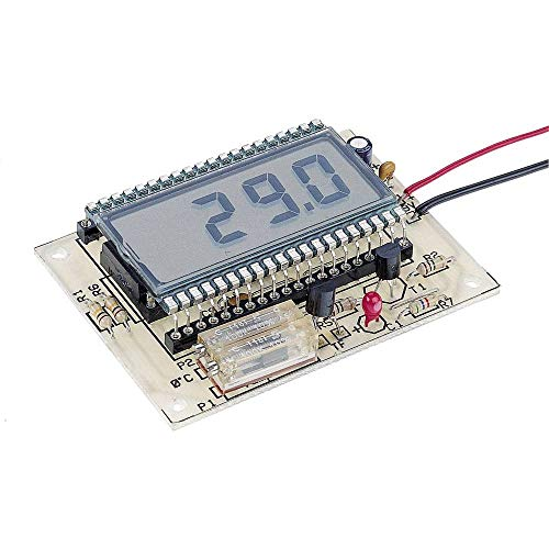 Conrad Components 115452 LCD Thermometer Bausatz 9 V/DC, 12 V/DC -50 bis 150 °C