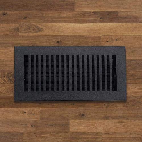 Magnus Home Products Contemporary Cast Iron Floor Register, 4' x 10', 5.0 lb