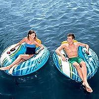 インフレータブルウォーターデッキチェア、 ウォーターハンモック成人フローティングベッド、スイミングプールフローティングラフト屋外水楽しいプール