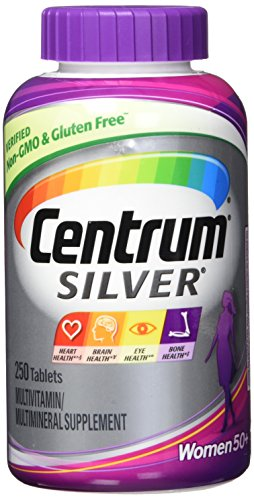 New. Easier to Swallow Centrum Silver Women 50+ 250Tablets by Centrum