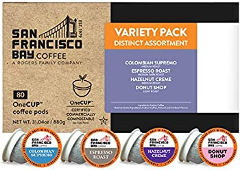 80-Count SF Bay Coffee OneCUP Assorted Variety Pack