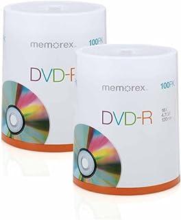 Memorex DVD-R 4.7GB Multipack 2-100 Pack Spindles, 200 Discs Total