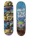 PlayWheels Teenage Mutant Ninja Turtles 28' Complete Skateboard - Hang On Graphic