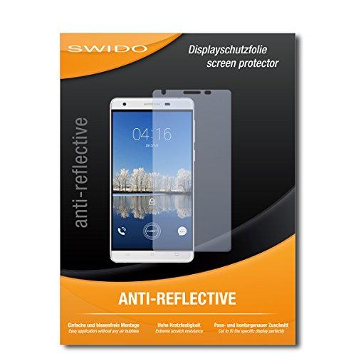 SWIDO Bildschirmschutz für Cubot H2 [4 Stück] Anti-Reflex MATT Entspiegelnd, Hoher Festigkeitgrad, Schutz vor Kratzer/Glasfolie, Schutzfolie, Bildschirmschutzfolie, Panzerglas Folie