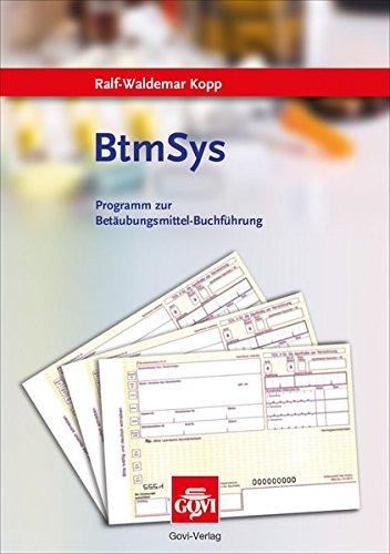 BtmSys: Programm zur Betäubungsmittel-Buchführung (Govi)