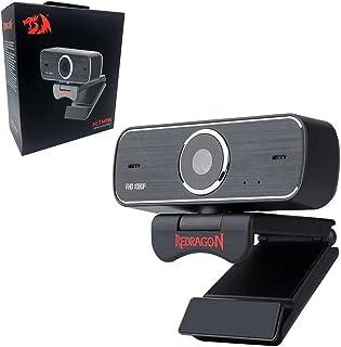 ريد دراغون كاميرا ويب وضوح 1920 x 1080 بكسل متوافقة مع ويندوز - GW800