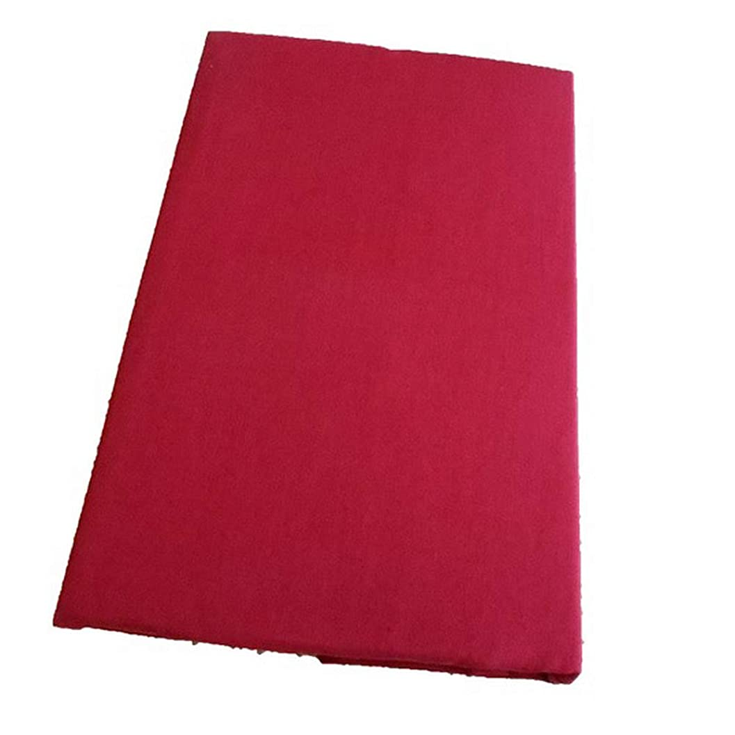 聞きます補充専ら日本製 ボックスシーツ シングル 綿100% サイズ100×200×28cm (レッド)